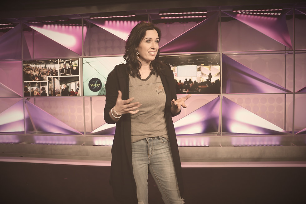 Invite Becky Michel to your next event as a Keynote, Breakout, or MC speaker.