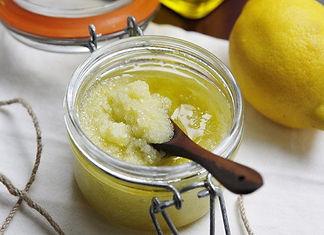 Pandan, Lemon Zest & Salt Scrub