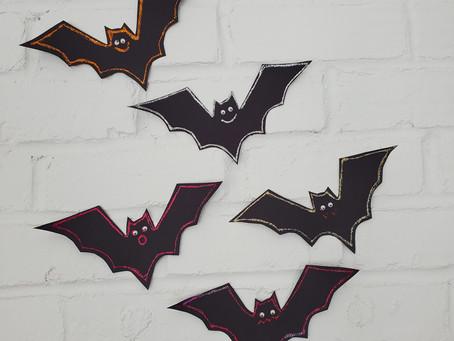 Halloween Kids Crafts: Fun and Spooky Bat Garlands