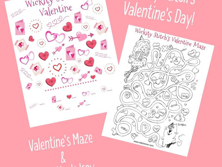 Free Printables for Kids! Valentine's Day Puzzles:)