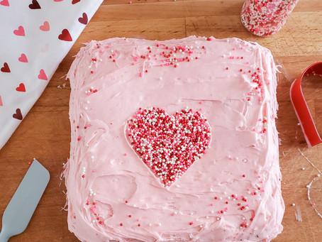 Fun and Easy Kids Dessert: Delicious Valentine's Day Heart Cake