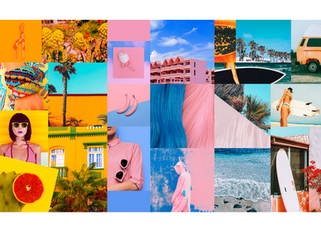 Creating a Mood Board for Spring 2021