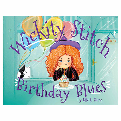 Wickity Stitch Birthday Blues
