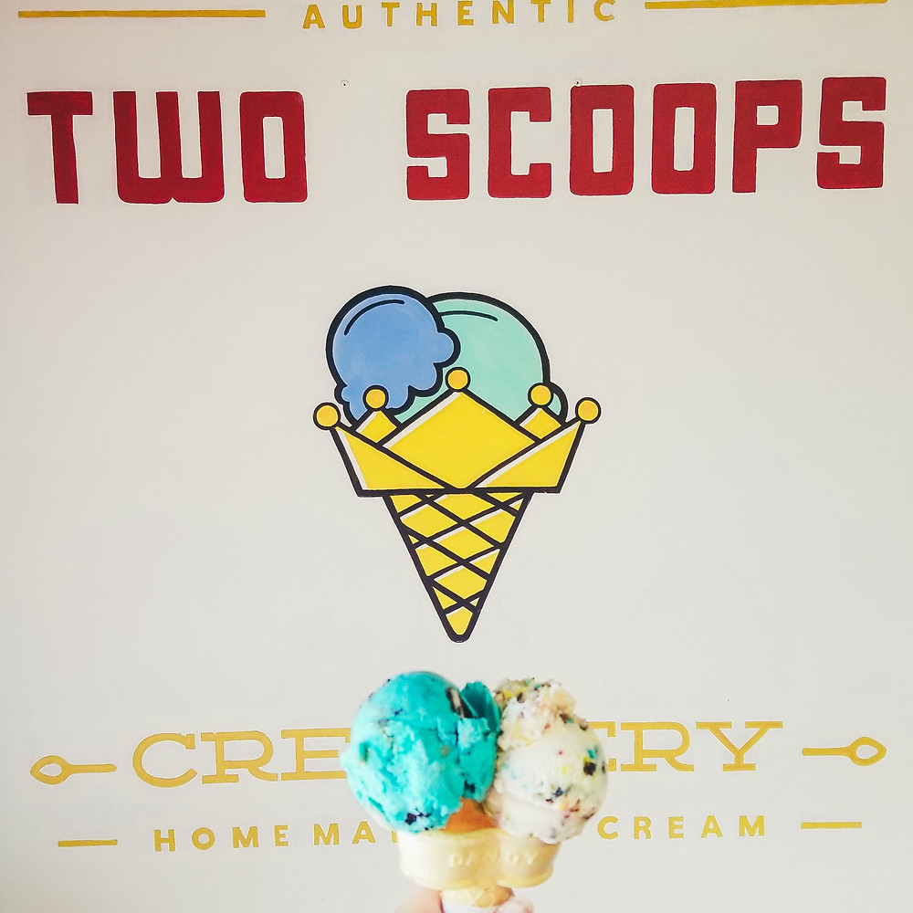 Two Scoops Creamery Charlotte North Carolina