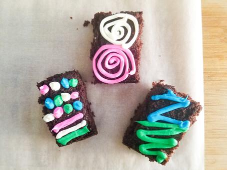 Delicious Children's Birthday Treats: Chocolate Cake Bars