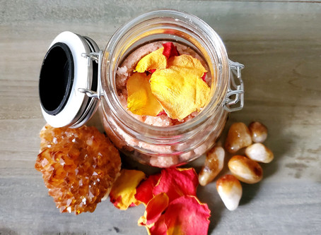 Flower Full Moon Body Scrub