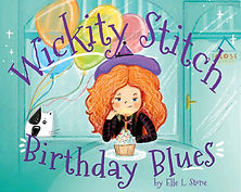 Wickity Stitch and Tibbits is a fun and silly book series about a witch and cat, Wickity Stitch and Tibbits. It's Wickity's birtday and her friends aren't anywhere in sight! What will the chocolate- loving witch do?
