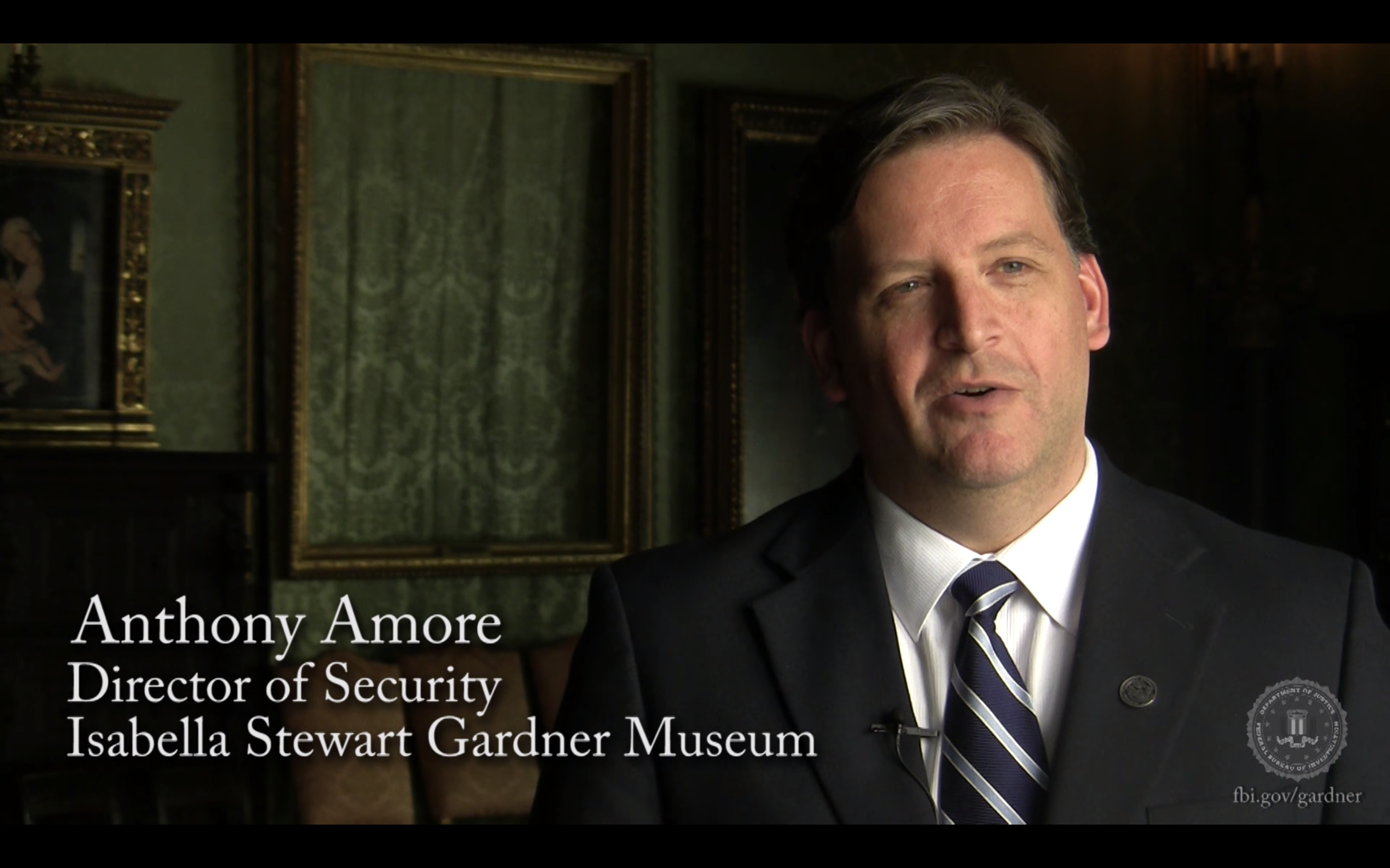 WATCH: Gardner Museum Thefts: Gardner Security Director Anthony Amore