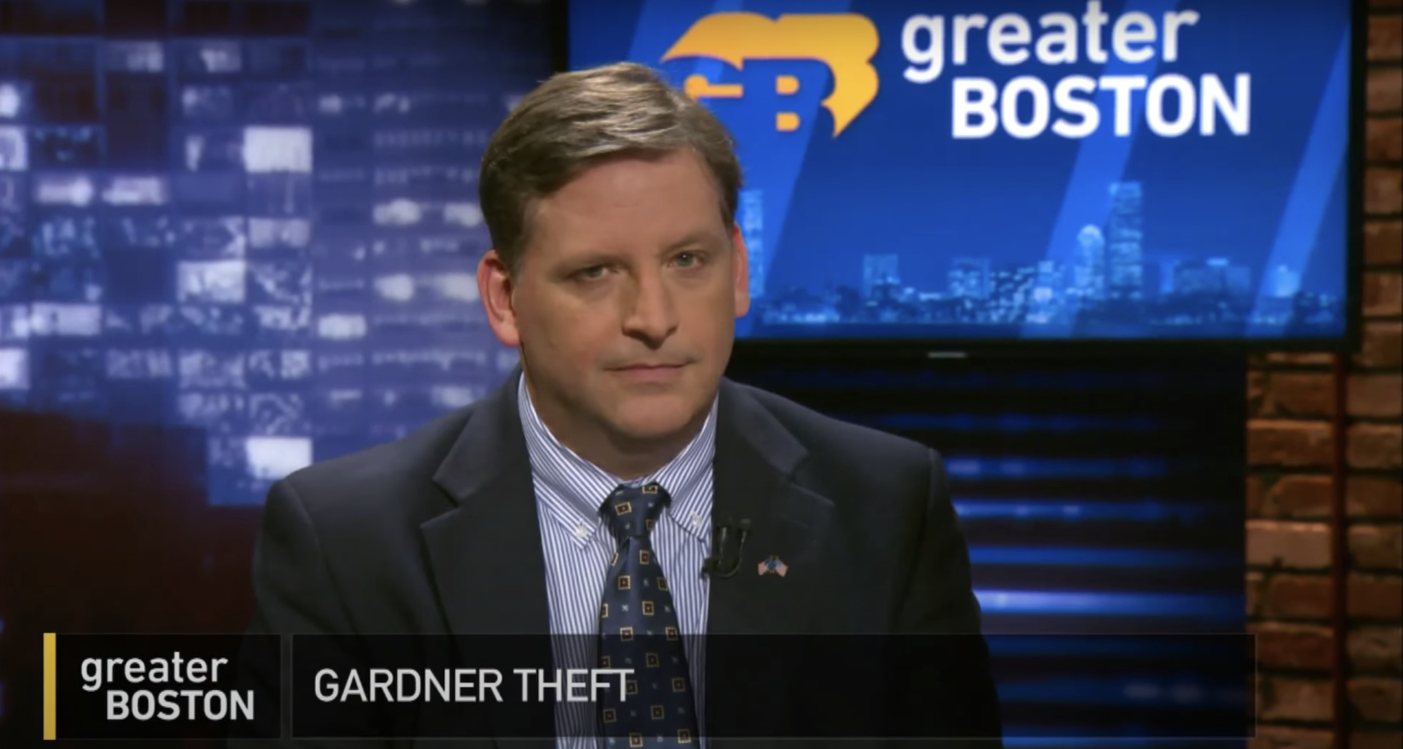 WATCH: Gardner Museum's Head Of Security On Developments In Case & New Book