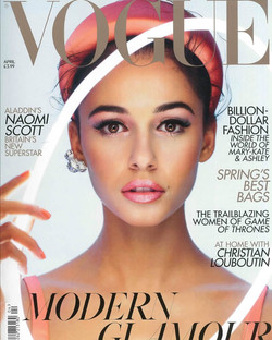 Vogue Modern Glamour Naomi Scott