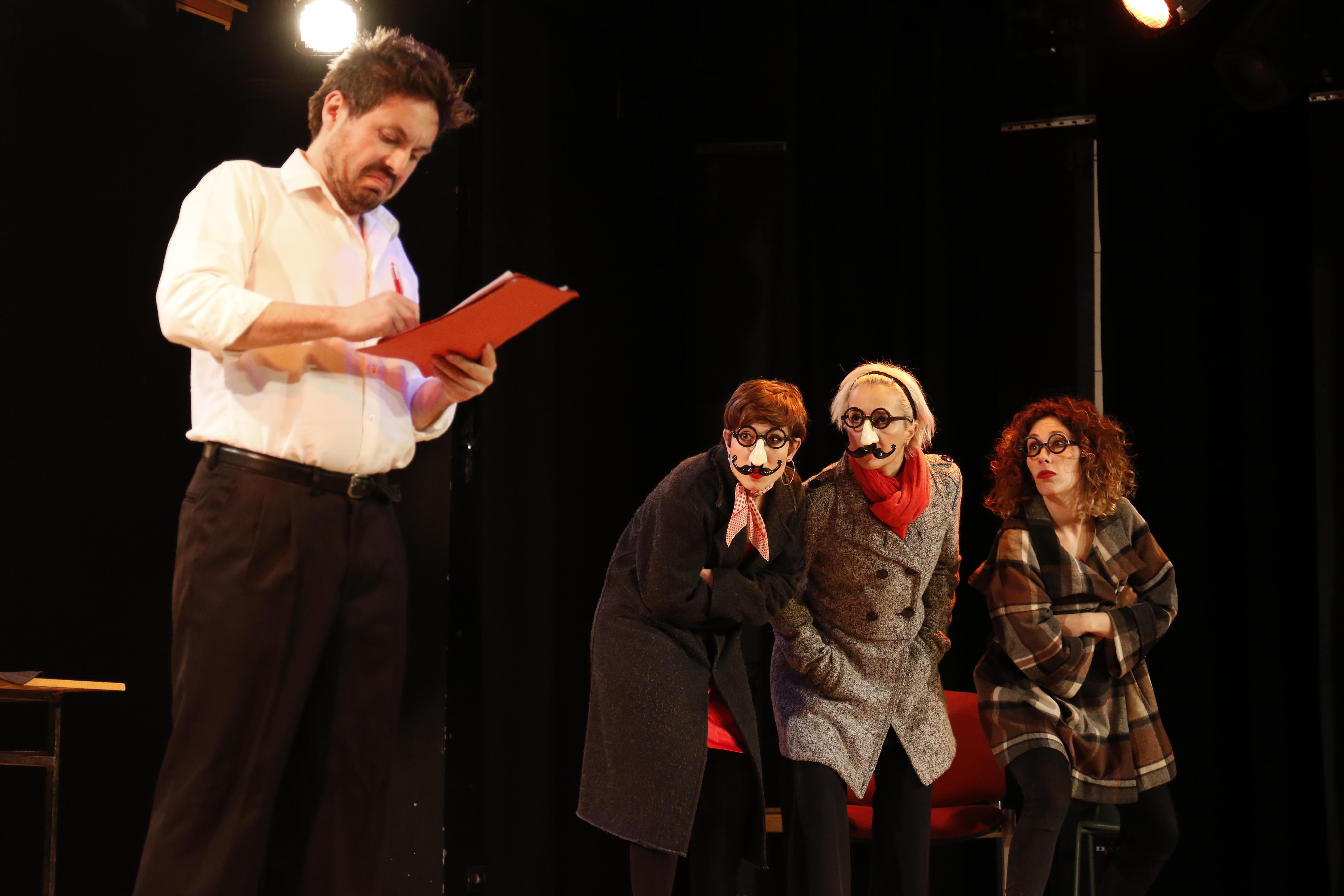 El Novio Infiltrado, Teatro Foro