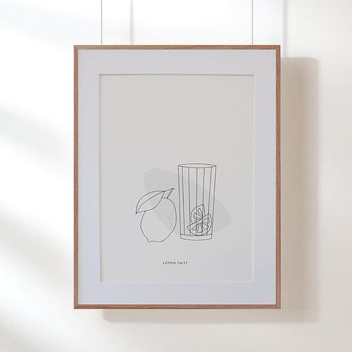 Affiche LEMON TWIST