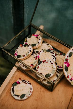 Biscuits Green Mirror
