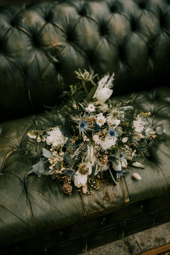 Bouquet Green Mirror