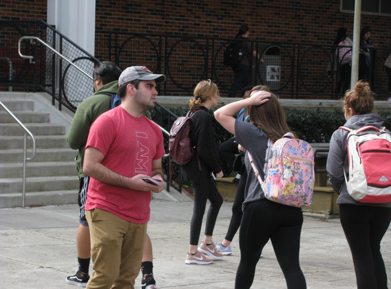 31.  Thomas evangelizing the students at