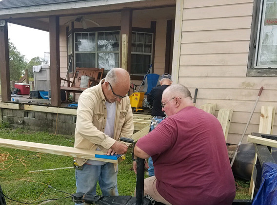 26. Members of FBC Golden Meadow buildin