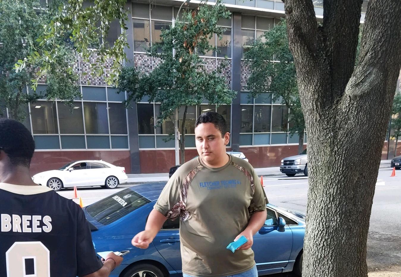 112. New Orleans Saints Outreach - Sept