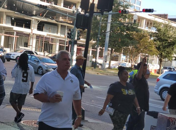 148. New Orleans Saints Outreach - Sept