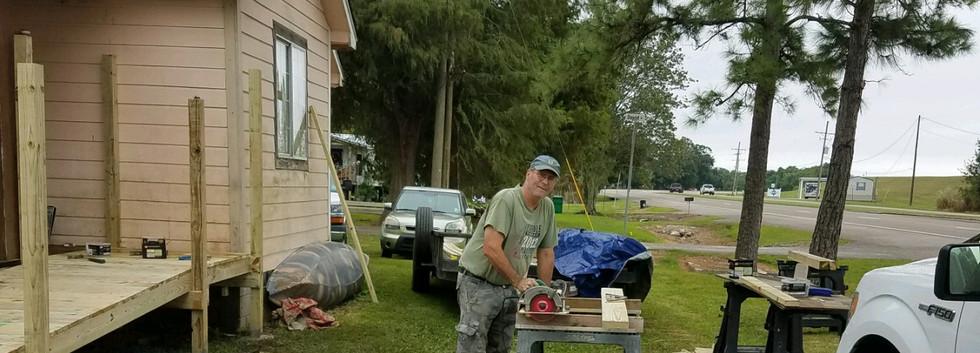 32. Members of FBC Golden Meadow buildin