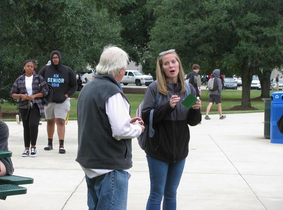 36. SLU evangelism outreach Oct 24, 2019
