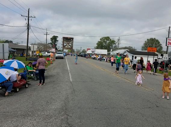 12. The Lockport Mardi Gras parade, Marc