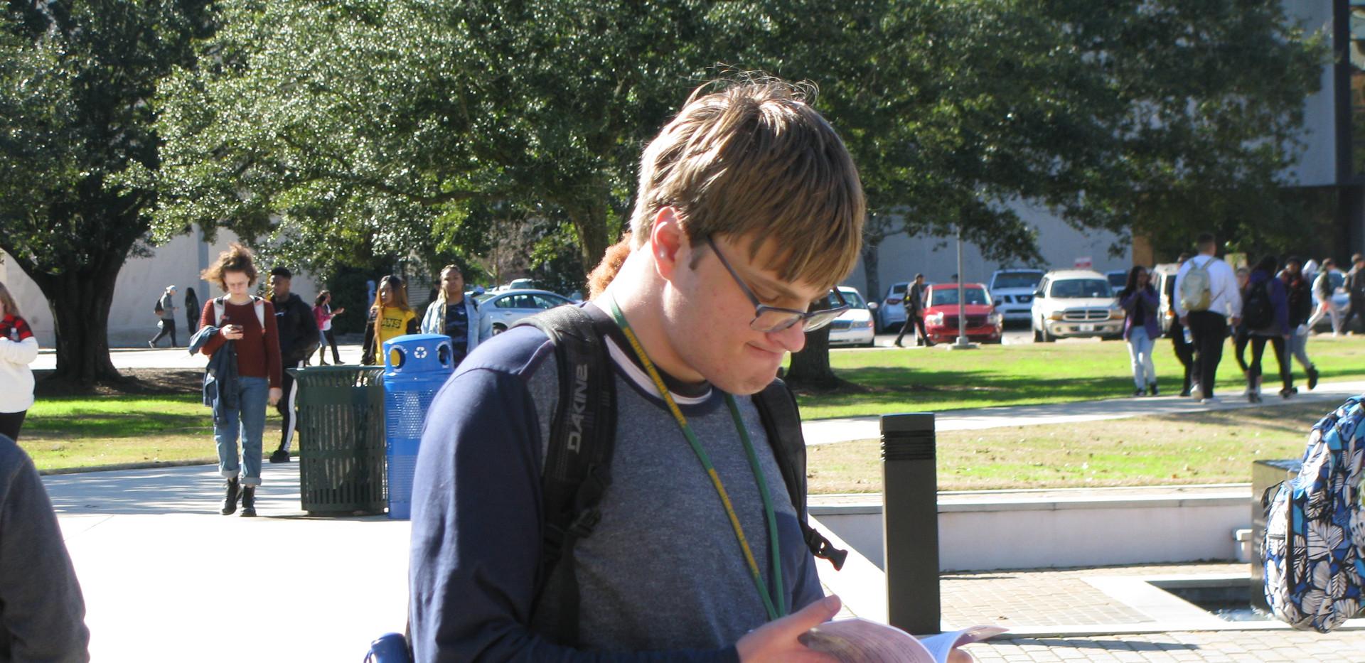 17.  Student at Southeastern Louisiana U