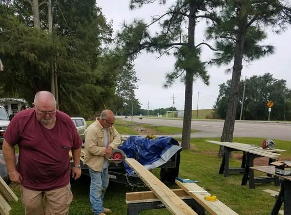 28. Members of FBC Golden Meadow buildin