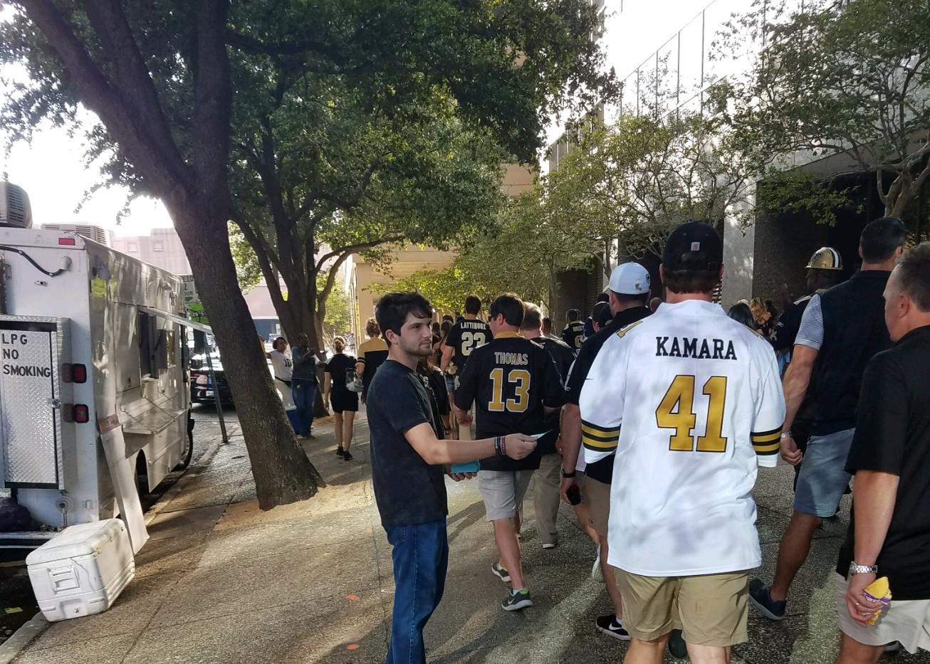 114. New Orleans Saints Outreach - Sept