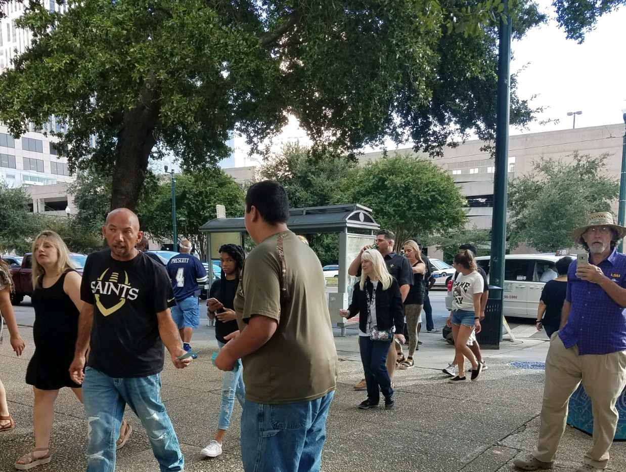 125. New Orleans Saints Outreach - Sept