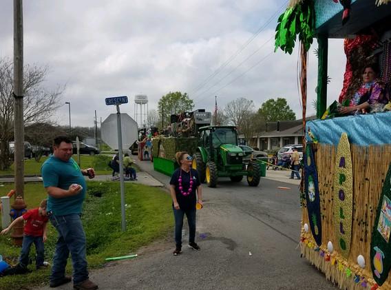 15. The Lockport Mardi Gras parade, Marc