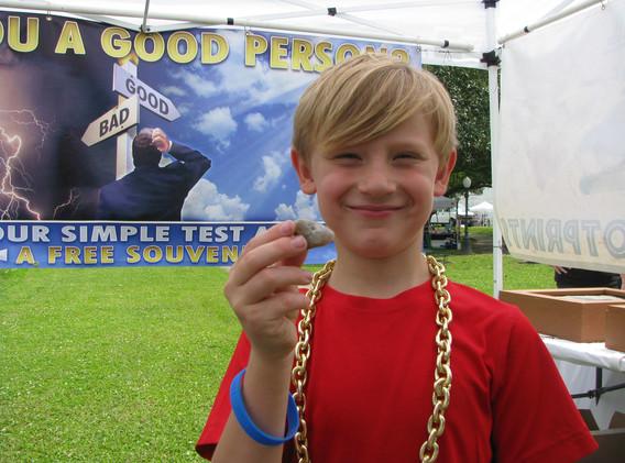 19. Coprolite winner, Lockport Bayouside