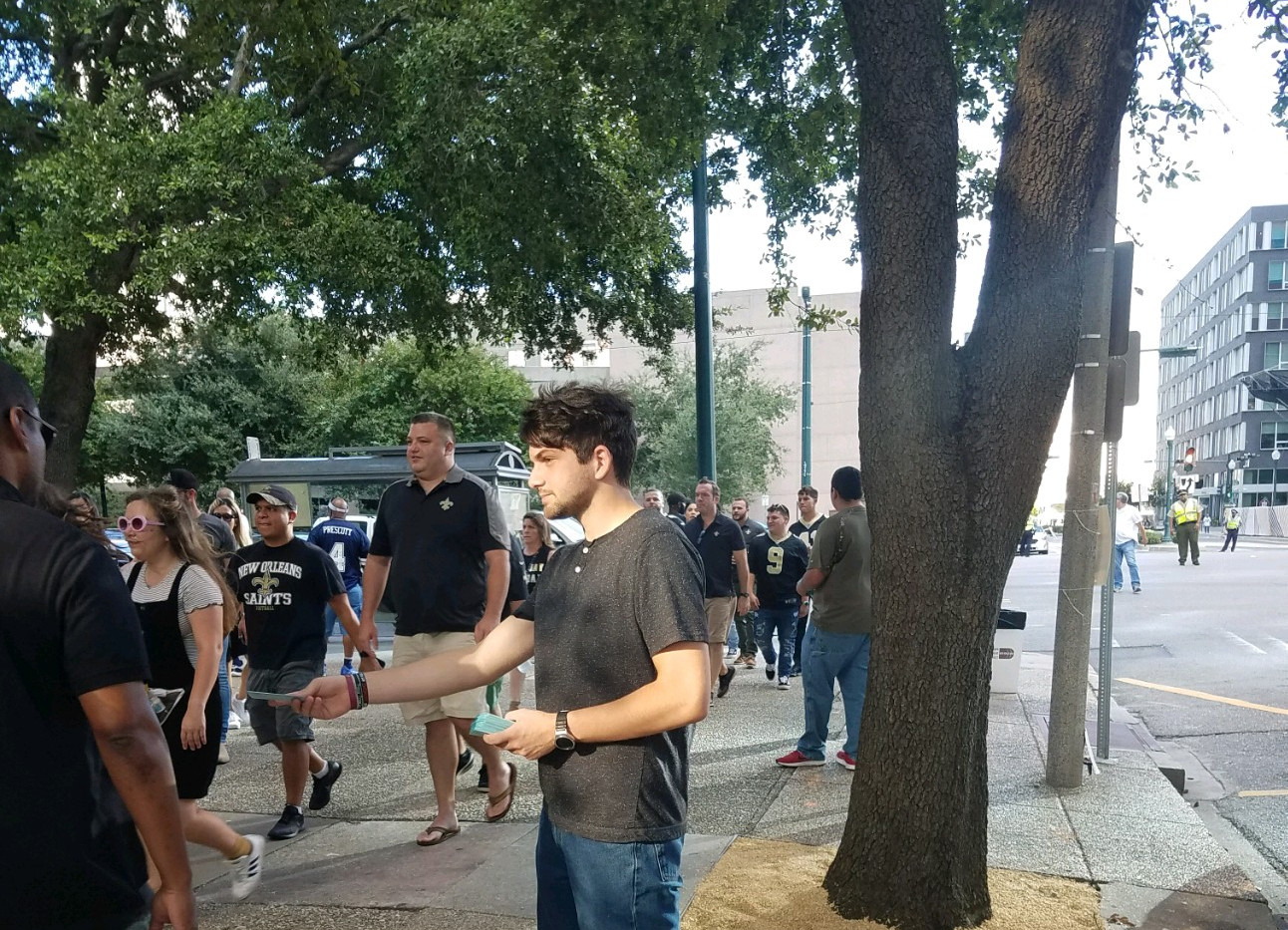 122. New Orleans Saints Outreach - Sept