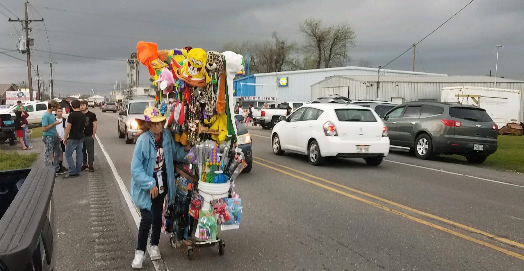 18. The Lockport Mardi Gras parade, Marc