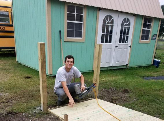 33. Members of FBC Golden Meadow buildin