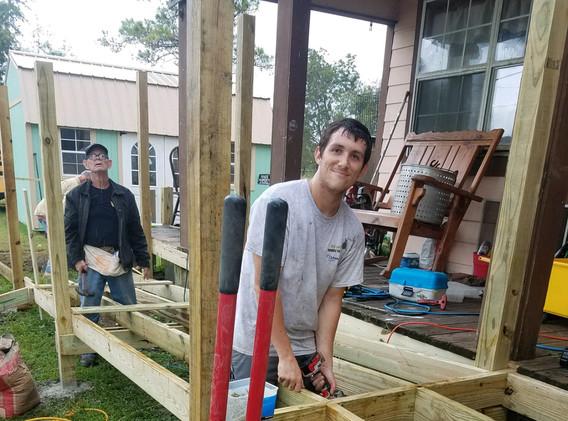 30. Members of FBC Golden Meadow buildin