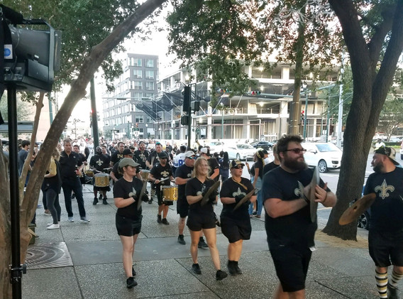 140. New Orleans Saints Outreach - Sept