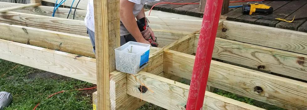 29. Members of FBC Golden Meadow buildin