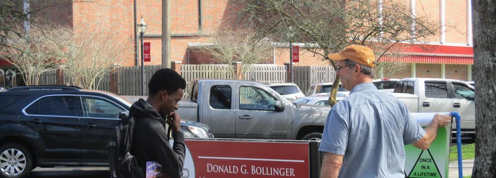 49. David sharing the gospel at NSU - Fe