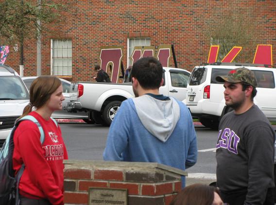 15. Jacob and Thomas sharing the gospel