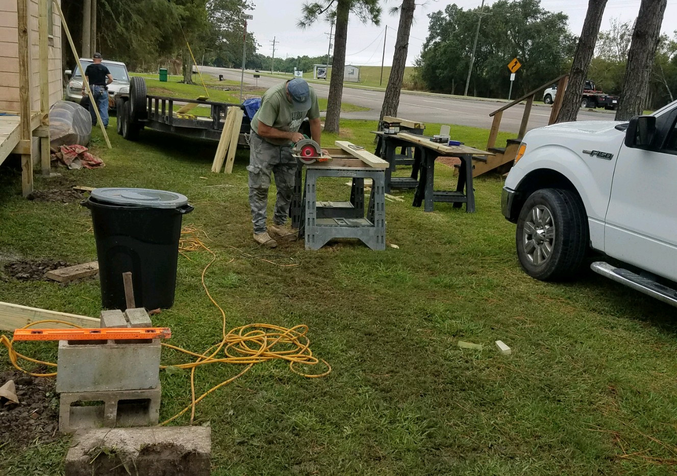 31. Members of FBC Golden Meadow buildin