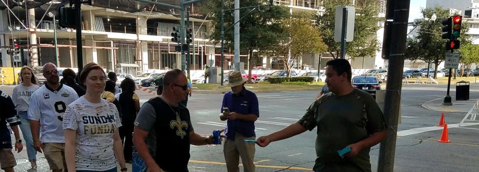 128. New Orleans Saints Outreach - Sept