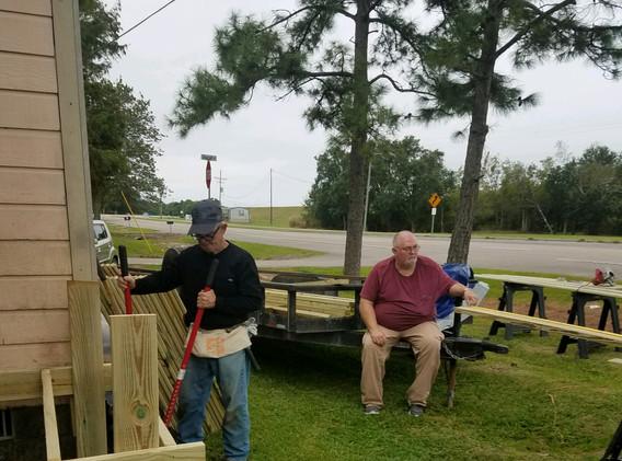 27. Members of FBC Golden Meadow buildin