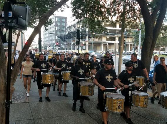 141. New Orleans Saints Outreach - Sept