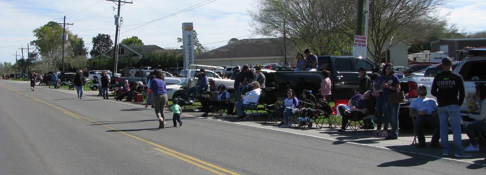 29. Evangelism at the Larose Mardi Gras