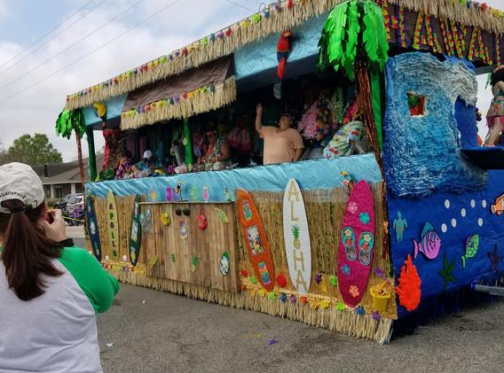 14. The Lockport Mardi Gras parade, Marc