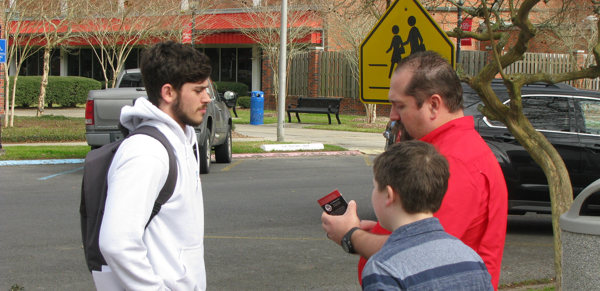35. Toby and Asher at Nicholls State Uni