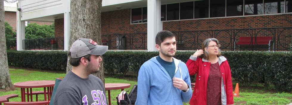 48. Thomas, Jacob and Maureen sharing th