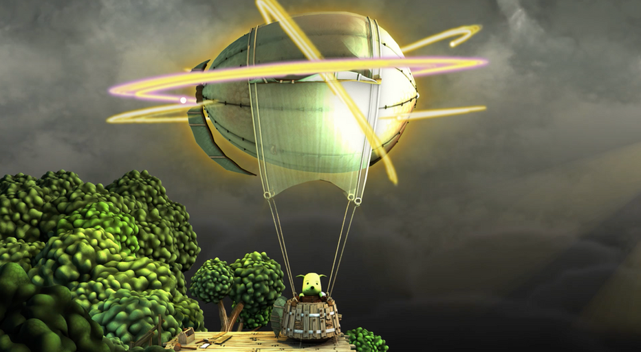 Lighting Up the Balloon