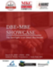 DBE+MBE Showcase & Networking Social Event
