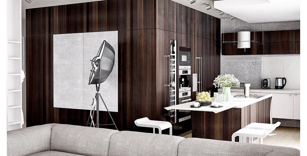 Kuchnia BAAK DESIGN BIO z Garderobą Kompaktową